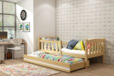 KUBUŚ-trundle-bed-pine-1